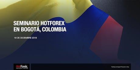Evento de HotForex en Bogota boletos