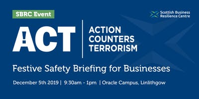 Action Counters Terrorism: Festive Safety Briefing for Businesses
