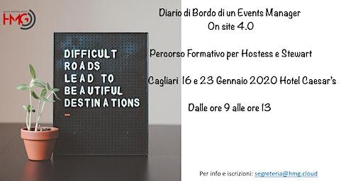 Diario di Bordo di un Event Manager On Site 4.0