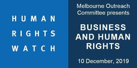 Breakfast panel on the state of business and Human Rights tickets