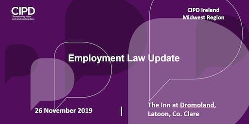 Employment Law Update - CIPD Ireland Midwest Region