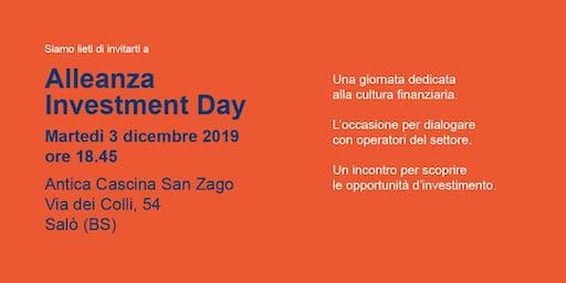 ALLEANZA INVESTMENT DAY - SEMINARIO DI CULTURA FINANZIARIA