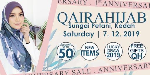 Anniversary Qaira Hijab Sungai Petani