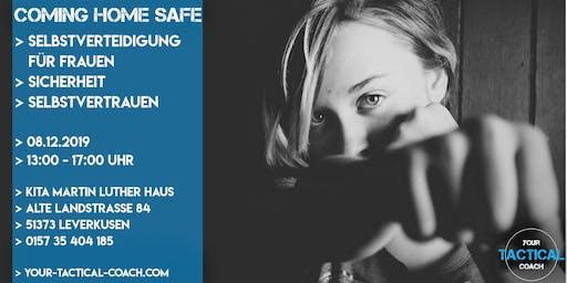 Coming home safe - Selbstverteidigung für Frauen