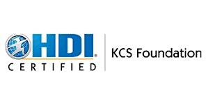 HDI KCS Foundation 3 Days Training in San Francisco, CA