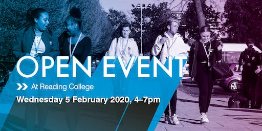 Reading College Spring Open Event