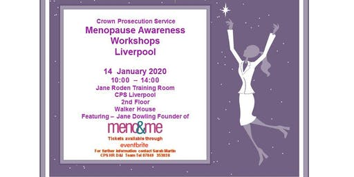 CPS Menopause Workshop Liverpool