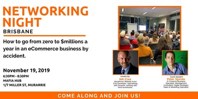 10th Brisbane Networking Night: Come Along And Join Like-Minded Business Owners