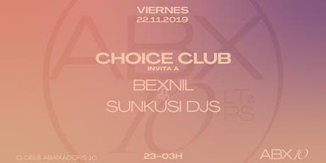 Choice Club at ABX10 tickets