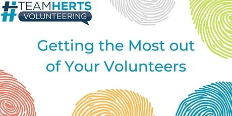 Getting the most out of your volunteers – Network session tickets