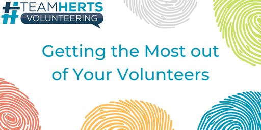 Getting the most out of your volunteers – Network session