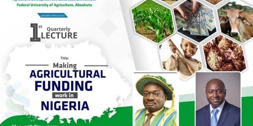 Making Agricultural Funding Work in Nigeria