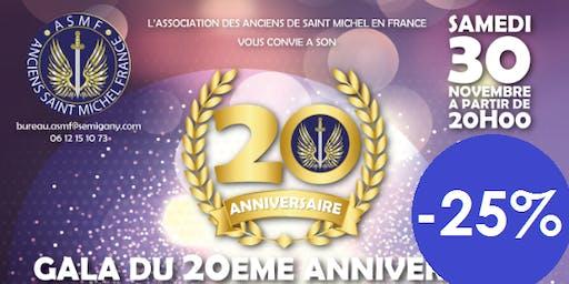 Vente Flash - Billet Gala 20e du 30 nov 2019
