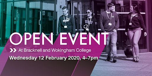 Bracknell and Wokingham College Spring Open Event