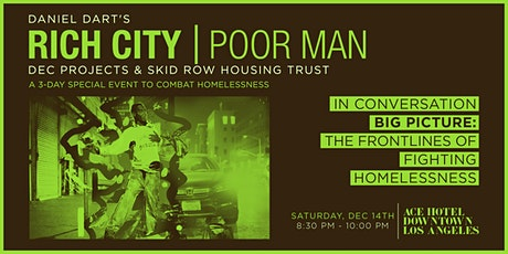 RICH CITY TALKS: Big Picture: The Frontlines of Fighting Homelessness tickets