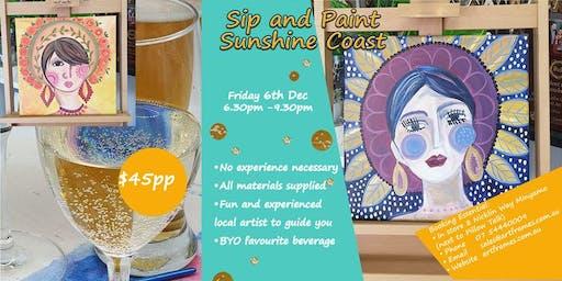 Sip and Paint Minyama Sunshine Coast