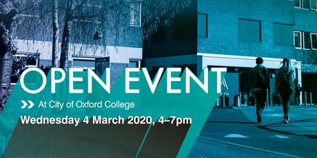 City of Oxford College Spring Open Event tickets