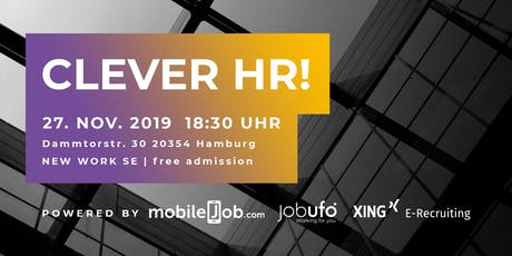 Clever HR! | Mobile Recruiting & Employer Branding Tickets