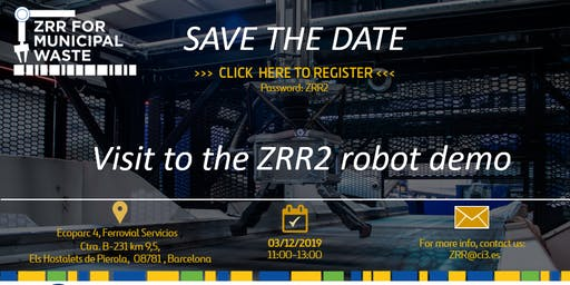 Visit to the ZRR2 robot demo