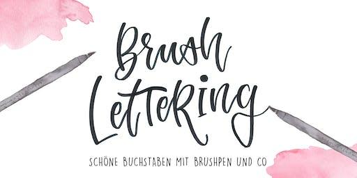Workshop: Brushlettering - Die Basics