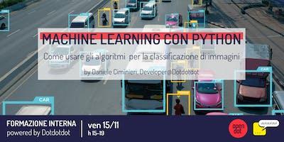 Machine learning con Python | formazione by Dotdotdot