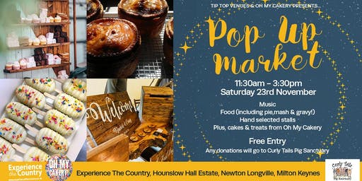 Pop up Christmas Indoor Market