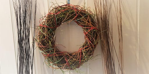 Festive Eco Friendly Willow Wreath Workshop At Alchemy 198