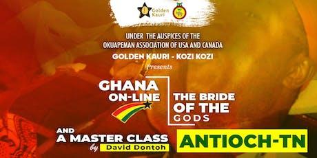Golden Kauri - Kozi Kozi (2nd Performance & Masterclass) tickets