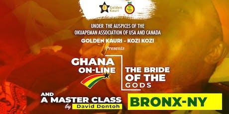 Golden Kauri - Kozi Kozi (3rd Performance & Masterclass) tickets