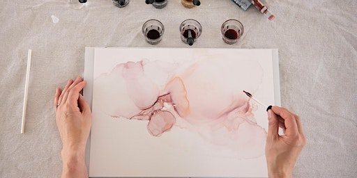 Alcohol Ink Art Workshop