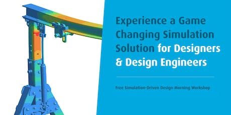 SimSolid: Free Simulation-Driven Design Morning Workshop tickets