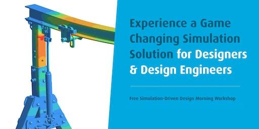 SimSolid: Free Simulation-Driven Design Morning Workshop
