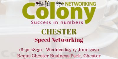 Colony Speed Networking (Chester) - 17 June 2020