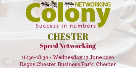 Colony Speed Networking (Chester) - 17 June 2020 tickets
