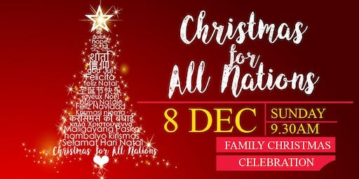 Celebrating Christmas with All Nations!