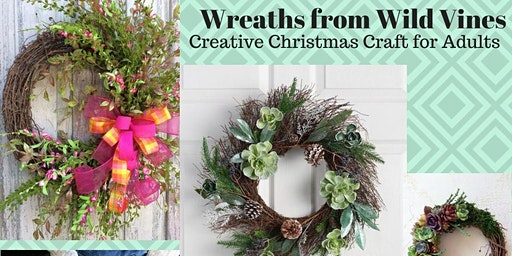 Wreaths from Wild Vines @ Burnie Library
