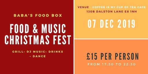 STREET FOOD AND MUSIC - CHRISTMAS FEST