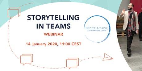 Storytelling in Teams - Webinar biglietti