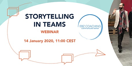 Storytelling in Teams - Webinar tickets