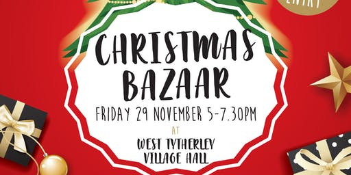 Christmas Bazaar in aid of West Tytherley Primary School