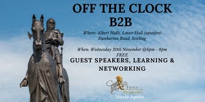 Off The Clock Networking - Stirling