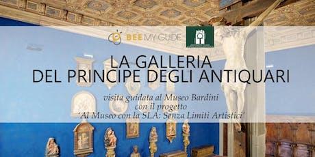 La Galleria del Principe degli Antiquari biglietti