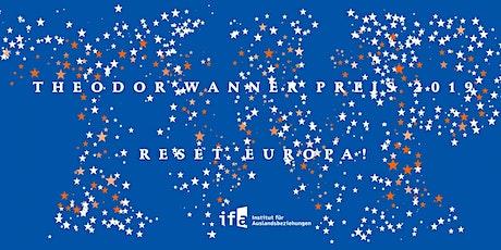 Theodor-Wanner-Preis 2019 Tickets