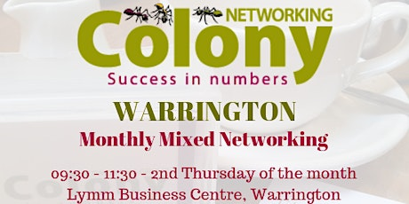 Colony Networking (Warrington) - 9 July 2020 tickets