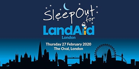 LandAid SleepOut - Surrey Cricket Foundation tickets