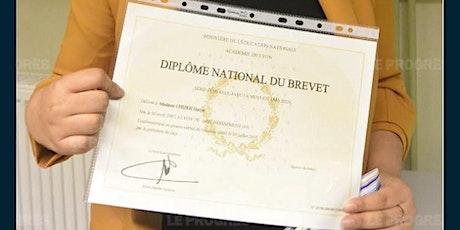 Cérémonie de remise des Diplômes du Brevet - 2019 tickets