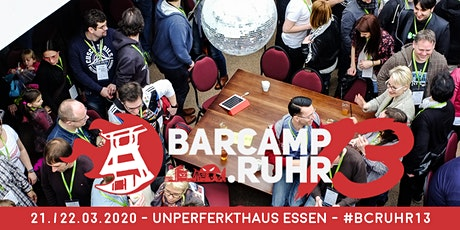barcamp.ruhr 13 Tickets