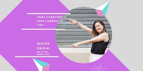 Sesión Grupal |  23 de Nov.| Buenos Aires  entradas