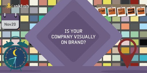 Free Workshop on Design Decisions for your Company / Brand.
