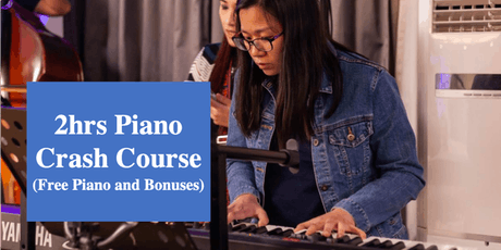 Piano Crash Course for Total Beginners (Play in 30min) tickets